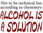 Chemistry Alcohol is Solution