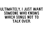 Talk Over Songs