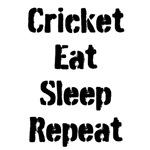 Cricket Eat Sleep Repeat