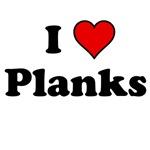 I Heart Planks