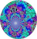 Blue & Purple Swirl