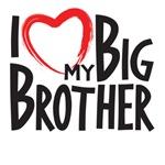 I heart my big brother, I love my big brother