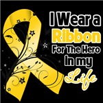 Ribbon Hero in My Life Neuroblastoma Shirts
