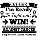 Skin Cancer Ready To Fight and Win Shirts