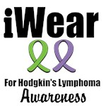 I Wear Ribbons Hodgkin's Lymphoma T-Shirts