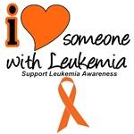 I Love Someone With Leukemia T-Shirts