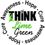 Think Lime Green Lymphoma T-Shirts & Gifts