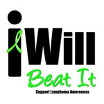 Lymphoma: I Will Beat It T-Shirts