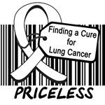 Finding a Cure For Lung Cancer Priceless T-Shirts