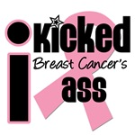 I Kicked Breast Cancer's Ass T-Shirts & Gifts