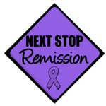 Next Stop Remission Hodgkin's Disease T-Shirts