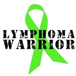 Lymphoma Warrior Grunge T-Shirts, Apparel & Gifts