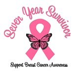 7 Year Breast Cancer Survivor T-Shirts