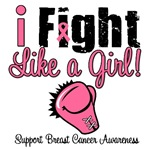 I Fight Like a Girl Breast Cancer T-Shirts & Gifts