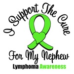 I Support The Cure For My Nephew Lymphoma Shirts