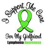 I Support The Cure For Girlfriend Lymphoma Shirts