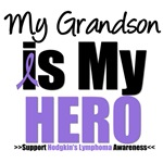 Hodgkin's Lymphoma Hero (Grandson) Shirts