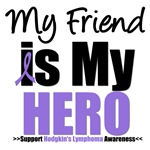 Hodgkin's Lymphoma Hero (Friend) Shirts