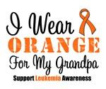 I Wear Orange For My Grandpa Grunge Shirts