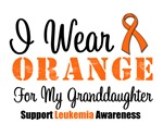 I Wear Orange For My Granddaughter Grunge Shirts