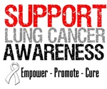 Support Lung Cancer Awareness Tees, Shirts & Gifts