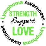 Lymphoma Strength, Support & Love Shirts & Gifts
