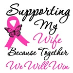 Breast Cancer Support (Wife) Shirts & Gifts