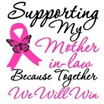 Breast Cancer Support (Mother-in-Law) Shirts