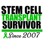 Stem Cell Transplant Survivor Since 2007 T-Shirts