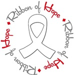 Lung Cancer Ribbon of Hope T-Shirts & Gifts