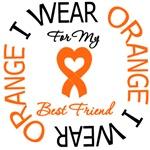 I Wear Orange Best Friend Leukemia Shirts