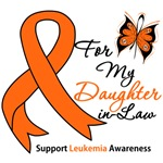 Leukemia Ribbon For My Daughter-in-Law Shirts