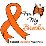 Leukemia Ribbon For My Brother Shirts & Gifts