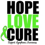 Lymphoma Hope Love Cure Shirts & Gifts