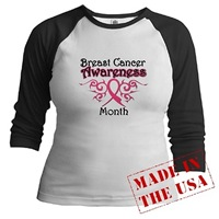Breast Cancer Awareness Month Tribal Ribbon Shirts