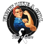 Rosie Riveter Fight Like a Girl Carcinoid Cancer