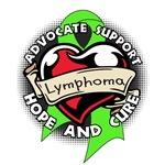 Lymphoma Ribbon Shirts and Gifts