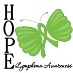 Lymphoma Butterfly Hope