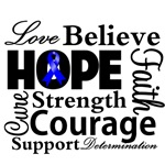 Colon Cancer Hope Collage Shirts Shirts and Gifts