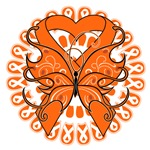 Leukemia Butterfly Shirts and Gifts