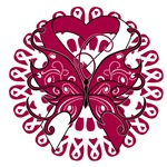 Head Neck Cancer Butterfly Shirts and Gifts
