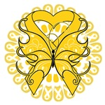 Childhood Cancer Butterfly Shirts and Gifts