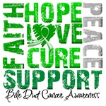 Hope Bile Duct Cancer Shirts and Gifts
