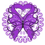Tattoo Butterfly Alzheimer's Disease Shirts
