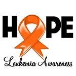 Hope Ribbon Leukemia Shirts and Gifts