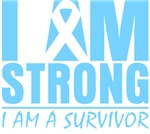 I am Strong Prostate Cancer Shirts