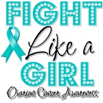 Fight Like a Girl Ovarian Cancer Shirts