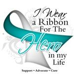 Cervical Cancer Hero in My Life Shirts