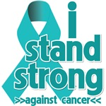 I Stand Strong Against Ovarian Cancer Shirts