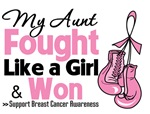 Aunt Fought Like a Girl Breast Cancer